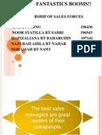 Leadership of Sales Forces
