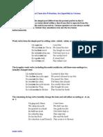 Präteritum Grammatik + Übungen a