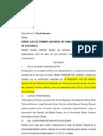 1 Ejecucion via Apremio -Peticion Ok