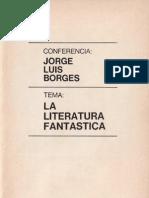 La literatura fantástica. Conferencia