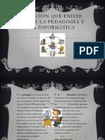 Relación que existe entre la pedagogía y la