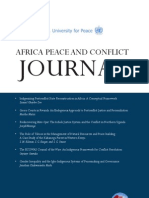 Africa Peace and Conflict