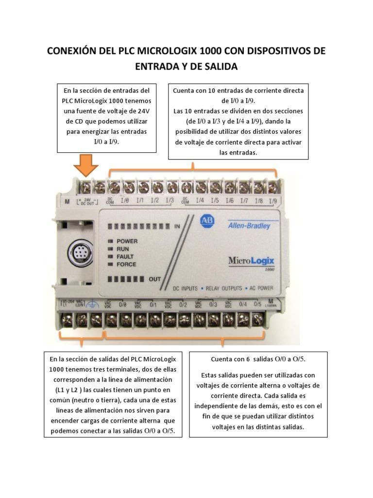 Atemberaubend Micrologix 1000 Kabel Fotos - Schaltplan Serie Circuit ...