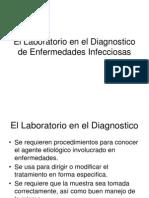 El Lab Oratorio en El Diagnostico de Enfermedades Infecciosas
