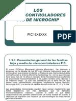 1.3.2 Los Micro Control Adores Pic de Microchip