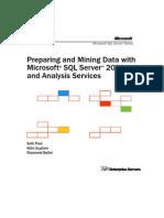 MS SQL Data Mining
