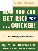 How You Can Get Richer... Quicker!