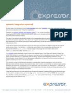 expressor semantic integration explained