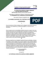 Ley 559 Delitos_contra_el_medio_ambiente y Los Recursos Naturales