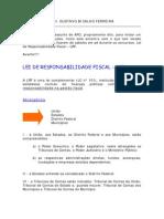 Resumo Lei de Responsabilidade Fiscal