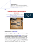 27c801 EPROM programador