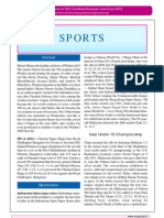 Current Affairs Sports July 2011 Www.sscportal.in