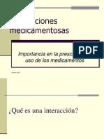Interacciones farmacológicas2