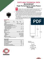 Svetlana Technical Data_el34_6ca7 Tube Specs