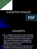 Alegatos Finales Diapositivas