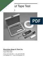 Cross Cut Kit Manual