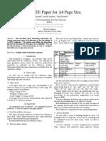 Ieee Format Seminar Format