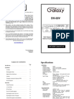 Galaxy Owners Manual dx55v