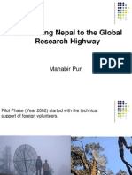 Connecting to the Global Research Highway-1