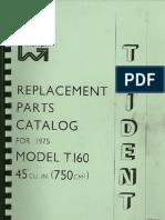 Triumph T160 Parts Catalog