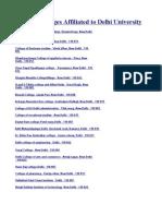 17096233 List of Colleges Under Delhi University