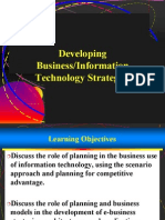Developing Business Information Technology Strategies