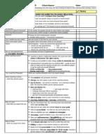 Intake Session Checklist TEMPLATE