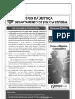 Agente PF 2012 - Caderno de Prova CESPE
