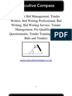 How To Be An Effective Tender Writers