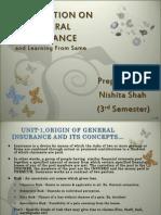 Presentation on General Insurance