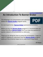 My Banners Broker Presentation