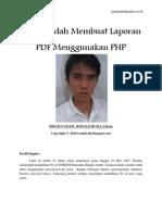 Cara Mudah Membuat Laporan PDF Menggunakan PHP
