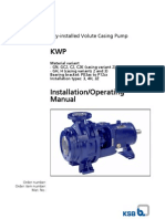Kwp Operating Instructions