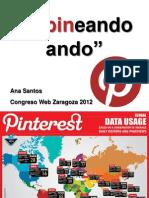 Conferencia sobre Pinterest