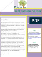 Educares. Newsletter nº 38