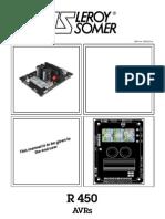 Leroy Somer r450 Automatic Voltage Regulator