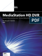 Media Station HD DVR User Guide ITALIAN