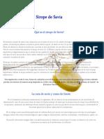 Articulo Cura Sirope de Arce y Zumo de Limon