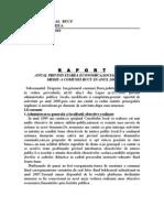 Raport de Activitate Primar 2009