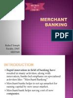 Unit 7 Merchant Banking