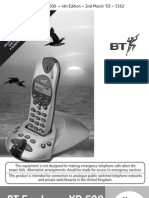 BT Freelance XD500 User Guide