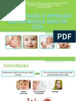 Amamentação e nutrição nos primeiros anos de vida