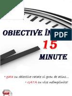 Obiective in 15 Minute