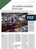 Démultiplier le système monétaire pour résoudre les crises, interview de Bernard Lietaer, L'écho, 2012-05-30