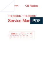 TR-296 Series Service Manual