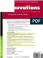 Innovations Advanced Learner's Book