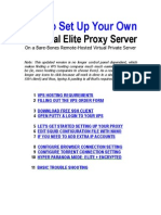 How to Setup an Elite Proxy Server
