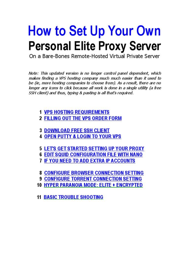 Free Ssh Proxy