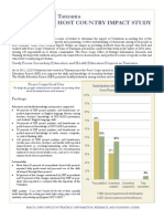 Peace Corps Host Country Impact Study Summary    Tanzania