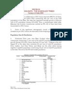 ST Census 2001 Mizoram